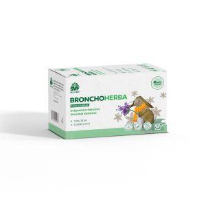 Žolelių arbata Bronchos vaikams, kvėpavimo takų funkcijai palaikyti, 20 vnt