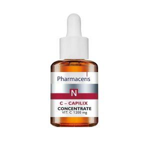 PHARMACERIS N, C Capilix-stiprinamasis serumas su vit. C, 30ml