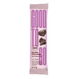 Good To Go keto proteino batonėliai, šokolado skonio, 40 g