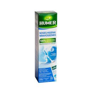 HUMER jūros vanduo suaugusiesiems, nosies higienai ir virusų prevencijai, 150ml